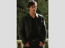 The Vampire Diaries Damon Salvatore Leather Jacket
