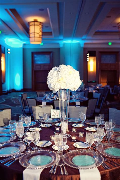 by significant events of texas teal brown and ivory wedding ivory wedding decor