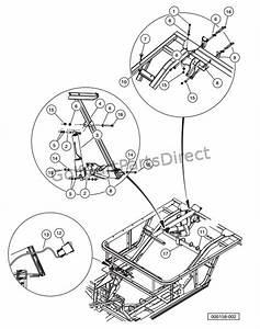 Xrt 1550 Club Car Parts