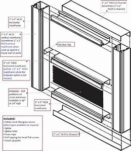 Patio Screen Frame Material; Aluminum Screen, Aluminum ...