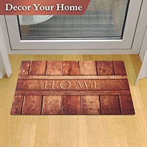 Door Mats Without Rubber Backing by 2 Pack Rubber Indoor Doormat Rustic Entrance