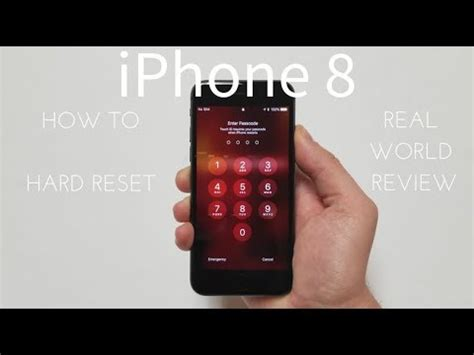 how to factory reset an iphone how to restart or reset your iphone 8 and iphone 8