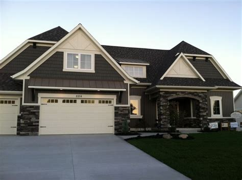 exterior paint colors for ranch style homes garage house