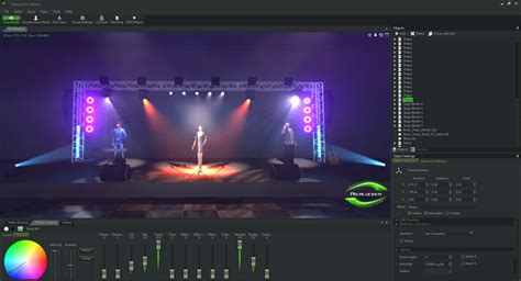 stage lighting simulator free realizzer 3d professional für pangolin software