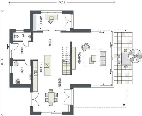 grundriss villa modern moderne h 228 user heinz heiden villa eiche