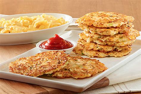Cauliflower 'Hash Browns' with Ketchup | Kraft Canada Cooking