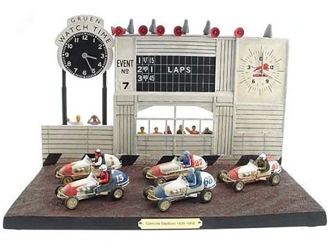 43 Gilmore Stadium Racing Diorama W/ Operating
