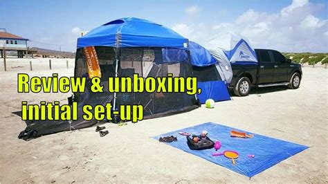 dome instant shelter canopy    unboxing initial set   review youtube