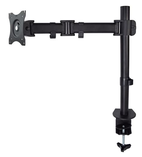 desk mount monitor arm vivo single monitor arm fully adjustable desk mount stand