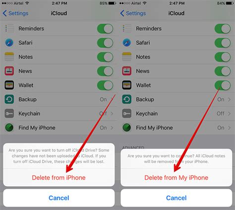 how to delete icloud account on iphone fix repeated quot verify icloud password quot popup in ios 9 on