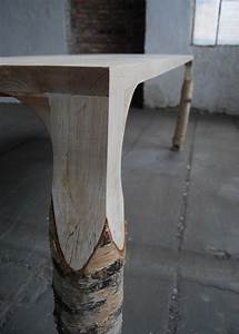 Journal Du Design : table bouleau par deslignes journal du design feedpuzzle ~ Preciouscoupons.com Idées de Décoration