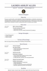 interior designer resume samples visualcv resume samples With interior design skills resume
