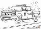 Coloring Police Truck Pages Printable Drawing Paper sketch template
