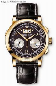A Guide To The Original Lange Datograph  Covering Versions