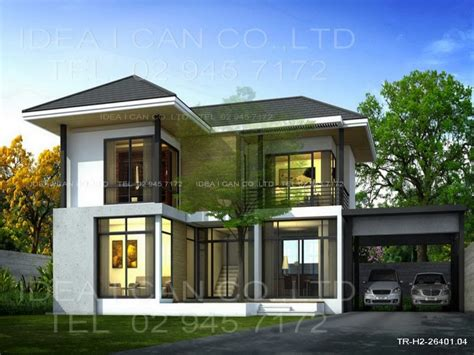 contemporary one house plans modern 2 house plans modern contemporary house