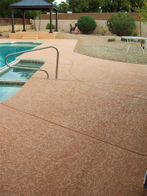 concrete pool deck finishes resurfacing pool deck