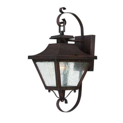 acclaim lighting lafayette collection 1 light copper