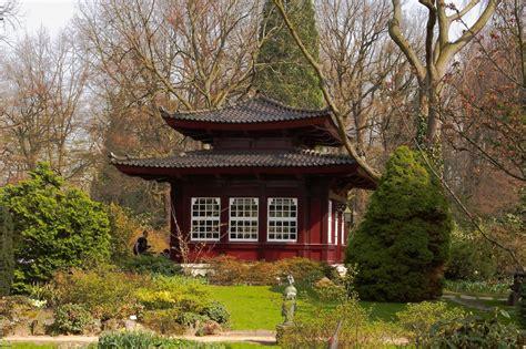 Japanischer Garten Dänemark by Pavillon Im Quot Japanischen Garten Quot Des Leverkusener Carl