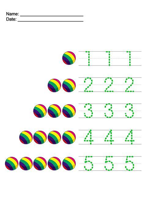 writing numbers worksheet  kids  activity