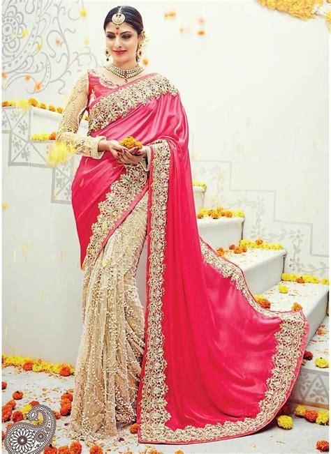 ideas  wedding sarees  pinterest white