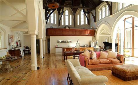 churches converted  modern family homes designbump