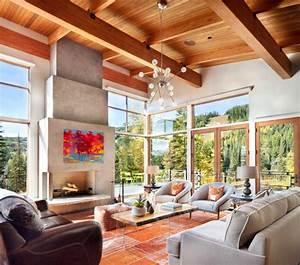 17  Chalet Living Room Designs  Ideas
