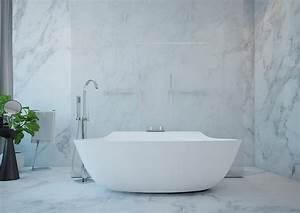 Marmor Im Bad : raumgestaltung ideen in grau 5 moderne appartements ~ Frokenaadalensverden.com Haus und Dekorationen