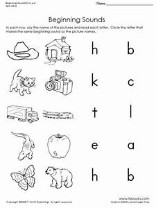 beginning sounds of h c t a and b kindergarten With letter sounds for preschool