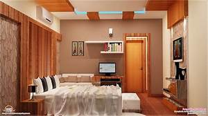 2700 sqfeet kerala home with interior designs house With interior design normal house
