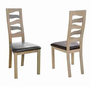 Chaise à Manger : chaise de salle manger vague ~ Teatrodelosmanantiales.com Idées de Décoration