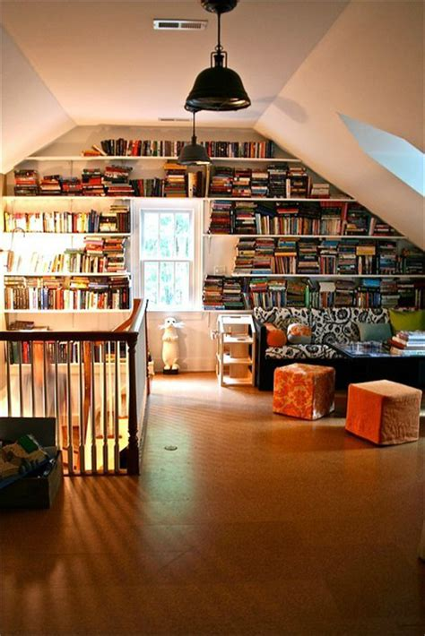 awesome attics awesome attic libraries decoholic