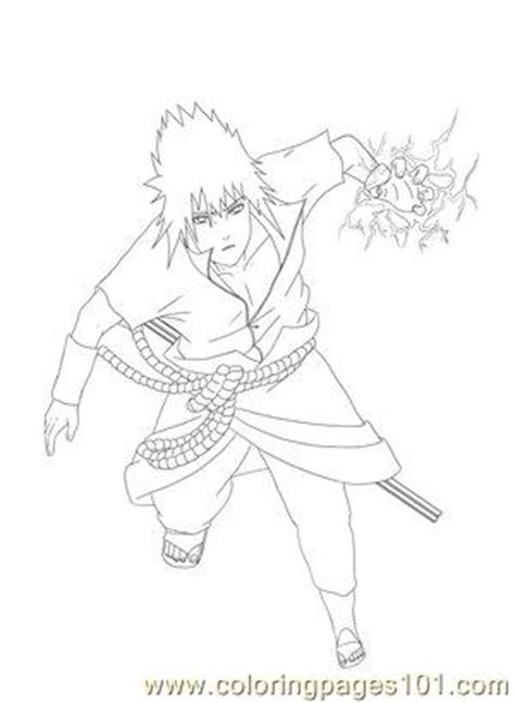 lineart  arya aiedail coloring page  sasuke coloring pages coloringpagescom