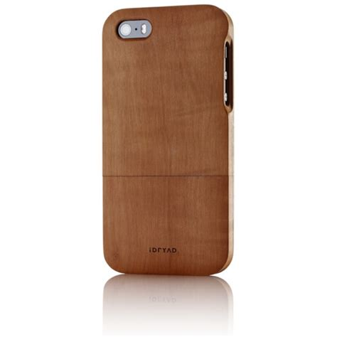 iphone 5s wood solid wood for iphone 5s pear tree idryad
