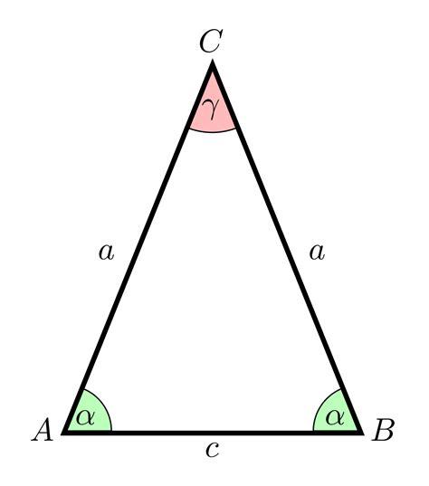 gleichschenkliges dreieck wikipedia