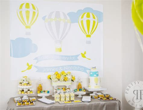 hot air balloon baby shower quot hot air balloon baby shower quot catch my party