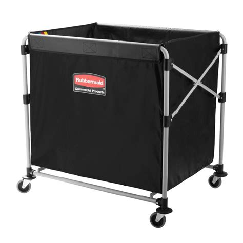rubbermaid 1881750 laundry cart w collapsible basket 35