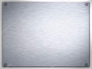 Plaque De Metal : plaque de m tal acier bross photographie clearviewstock 1214749 ~ Teatrodelosmanantiales.com Idées de Décoration