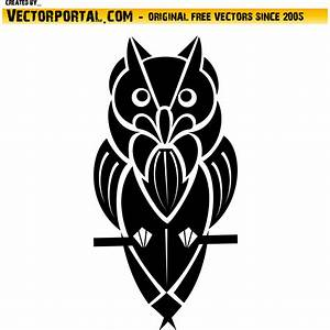 Vector for free use: Owl illustration vector