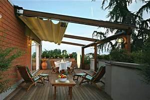 Terrassenüberdachung Freistehend Alu : terrassen berdachung mit sonnenschutz das beste aus ~ Articles-book.com Haus und Dekorationen