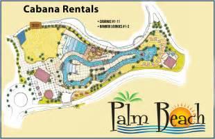 Palm Beach At Moody Gardens Galveston Tx by Cabanas