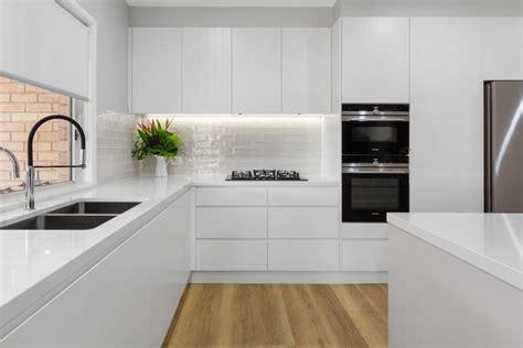 modern white kitchen kellyville premier kitchens