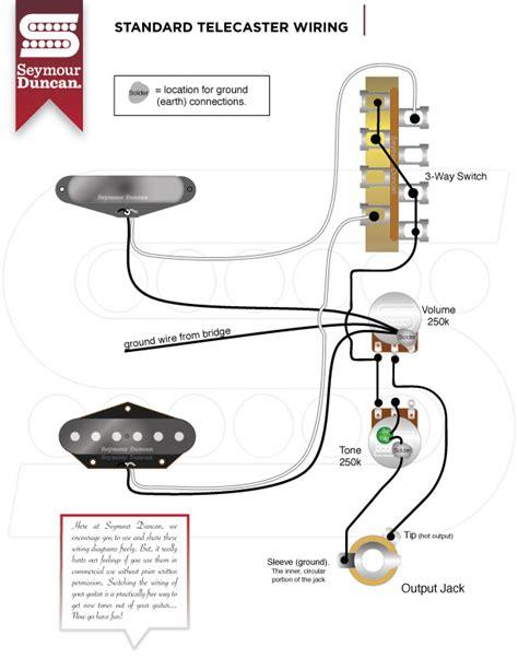 seymour duncan telecaster wiring diagrams get free image
