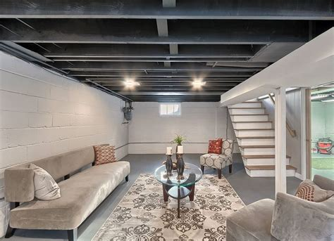 Unfinished Basement Ideas 9 Affordable Tips Bob Vila