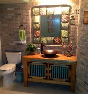 Mexican Cantina - Eclectic - Bathroom - denver - by JH