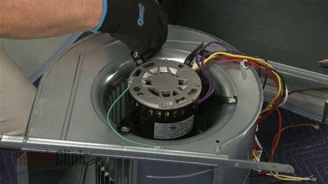 Lennox Furnace Blower Motor Replacement Youtube