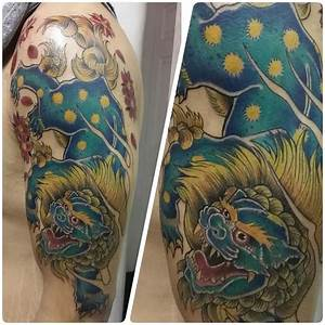 78 best Foo Dog images on Pinterest | Tattoo designs, Dog ...