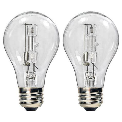 bulbrite 115070 72w a19 clear halogen 120v