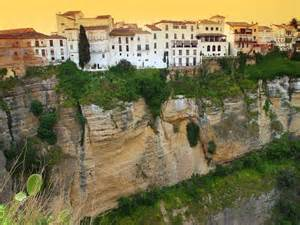 Ronda Spain Cliff On the City