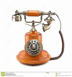 Old Telephone Stock Photo  Image Of Retro  Equipment