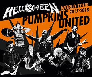 Halloween: Pumpkins United World Tour 2017/2018 – Time For ...